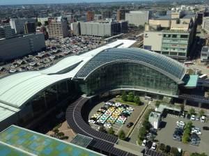 Kanazawa Station, soon to have Japan's newest Shinkansen route!