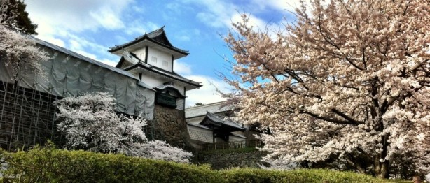 Kanazawa Castle in the Spring