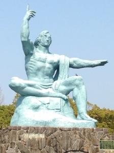 Peace Statue, Nagasaki Peace Park